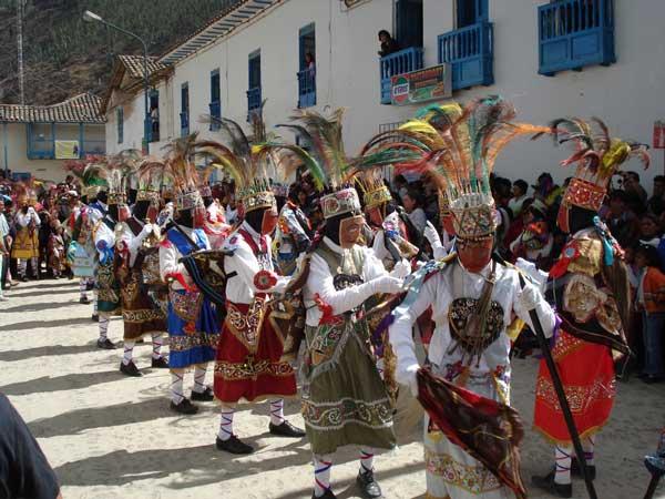 Festividad de la Virgen del Carmen en Paucartambo