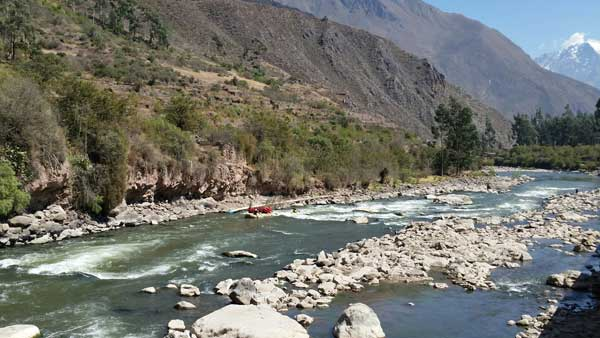 Rafting in the Sacred Valley of the Incas
